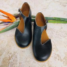 PU Επίπεδη φτέρνα Διαμερίσματα Κλειστά παπούτσια Με Κουκούλα-έξω παπούτσια