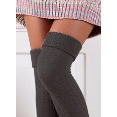Jednobarevná Teplý/Komfortní/Dámské/Podkolenky Ponožky/Punčochy