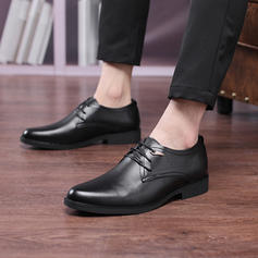 Men's Latin Modern Flats Microfiber Leather Modern