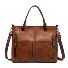 Elegant/Vintage/pendling/Enkel/Super bekvämt Crossbody Väskor/Axelrems väskor/Handtagsväskor