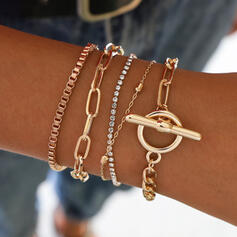 Charming Alloy Bracelets