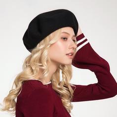 Dames Mode/Jolie Coton/Acrylique Béret Chapeau