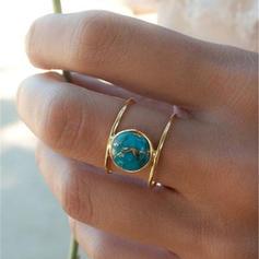 gyönyörű Ötvözet Gyűrűk