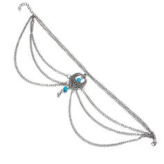 Chic Legering med Oäkta Pearl Kvinnor Strand smycken