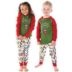 Dopis Cartoon Rodinné odpovídající Vánoční pyžama