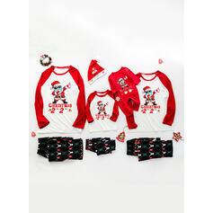 Babbo Tartan Lettera Famiglia Partita Di Natale Pajamas