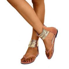 De mujer Ante Tacón plano con Cremallera zapatos