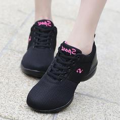 De mujer Zapatillas Zapatillas Tejido Estilo Moderno