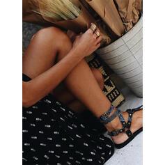 Nadrukowana Krótkie rękawy W kształcie litery A Okrycie/Łyżwiaż Casual/Wakacyjna Maxi Sukienki