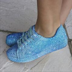 Bayanlar PU gündelik Dış mekan Ile Payet Bağcıklı ayakkabı ayakkabı