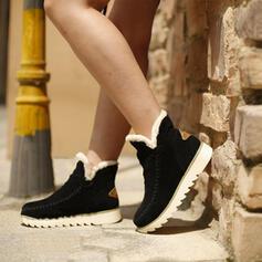 Kvinnor Mocka Flat Heel Platta Skor / Fritidsskor med Skarvfärg skor
