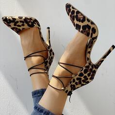 Γυναίκες Καστόρι Ψηλό τακούνι Γοβάκια Με Αποτύπωμα ζώου παπούτσια