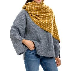 Καρό ύφασμα ελκυστικός/Κρύος καιρός Κασκόλ