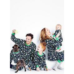Распечатать Семейное соответствие Рождественская пижама