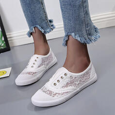 Women's Lace Casual Outdoor With Stitching Lace shoes