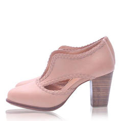 De mujer PU Tacón ancho Salón con Otros zapatos