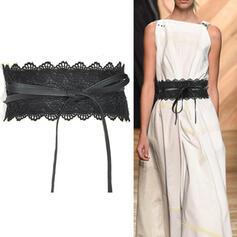 Stylish Elegant Lace PU Women's Belts