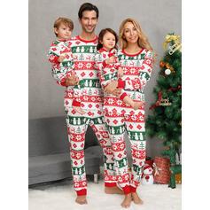 Imprimeu De Familie Pijamale De Crăciun