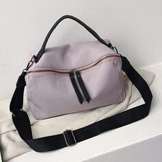 Raffinerad/Mördare/pendling/Enfärgad Tygväskor/Crossbody Väskor/Axelrems väskor/Boston Väskor/Hobo väskor