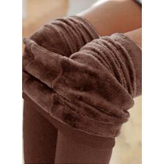Pevný Dlouho Neformální Sportovní Kalhoty Legíny