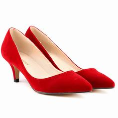 Pentru Femei Piele de Căprioară Toc con Încălţăminte cu Toc Înalt Închis la vârf pantofi