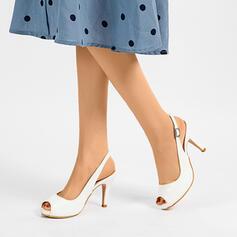 Λείαντο Ψηλό τακούνι Σανδάλια Γοβάκια Ανοιχτά σανδάλια toe Με Πόρπη παπούτσια