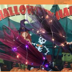 minunată Înspăimântător clasic Halloween Polyester Recuzită de Halloween