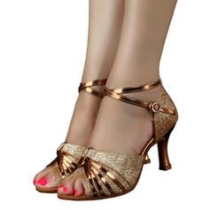 Kvinner Latin Hæle Glitrende Glitter Latin