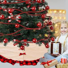 Bonito Desenho animado Decorativo Natal Látex borracha Jóias de Natal Tapeçaria