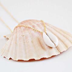 Szykowny Stop Z Powłoka Naszyjniki Biżuteria plażowa