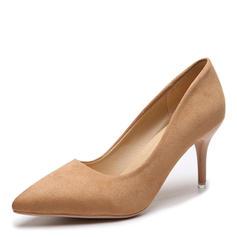 De mujer Ante Tacón stilettos Salón zapatos