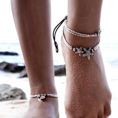 Κράμα Πλεκτό σχοινί Για Γυναίκες Παραλία κοσμήματα Ποδιές