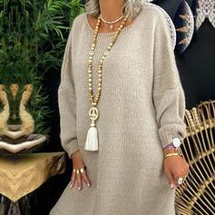 Elegante Boho Pietra Naturale Cristallo Cotone stringa Perline di legno con Nappe Perline Collane