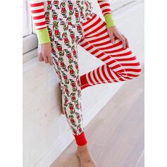 Jultomten Rand Matchande familj Jul Pyjamas