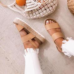 De mujer PU Tacón plano Plataforma con Otros zapatos