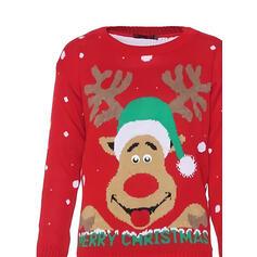 Unisex Polyester Soby Ošklivý vánoční svetr