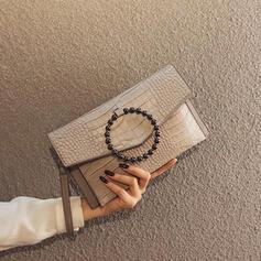 Elegant/Classical/Alligator Pattern/Vintga Clutches/Shoulder Bags