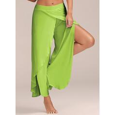 Color sólido Pantalones deportivos