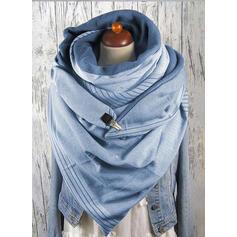 Colore solido oversize/moda Sciarpa