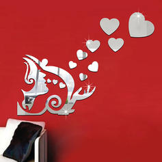 Modern Vertical Pop Art Wall Stickers