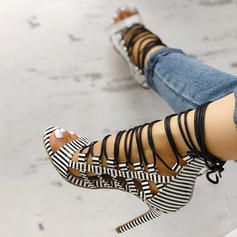 Σανδάλια Ανοιχτά σανδάλια toe Με Αποτύπωμα ζώου Κέντημα-επάνω παπούτσια