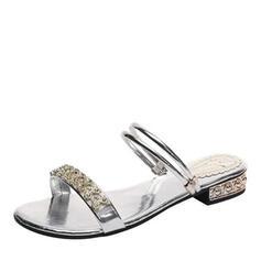 Σανδάλια Ανοιχτά σανδάλια toe Παντούφλες Με Τεχνητό διαμάντι παπούτσια