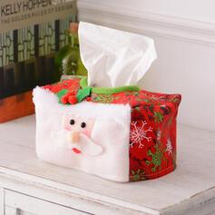 Boneco De Neve Bonito Desenho animado Papai Noel Natal Látex borracha Papel toalha Jóias de Natal