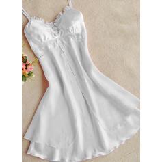 Nailon Chinlon Dantelă alunecare rochie