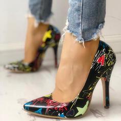 Kvinnor PU Stilettklack Pumps skor