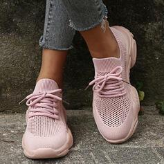 Női Szövet Szabadtéri Atlétikai -Val Lace-up cipő
