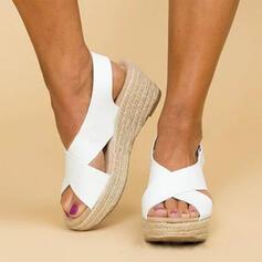 PU Wedge heel Sandaalit kengät