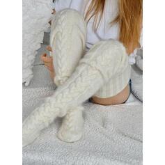 Jednobarevná Teplý/Prodyšný/Komfortní/Dámské/Podkolenky Ponožky/Punčochy