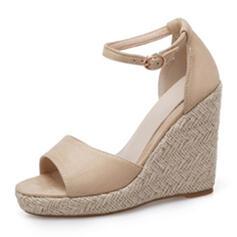 Γυναίκες Καστόρι Γωνία κλίσης Σανδάλια Ανοιχτά σανδάλια toe Με Πόρπη παπούτσια
