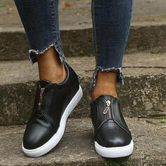 Women's PU High Top Sneakers With Others shoes
